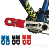 Three Stripes Universal Bicycle MTB Protective Crank Arm Socks Silicone Sleeve