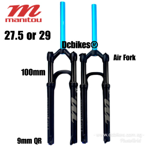 Manitou 27.5 OR 29 Markhor 100mm Travel XC AM MTB Air Suspension QR Fork