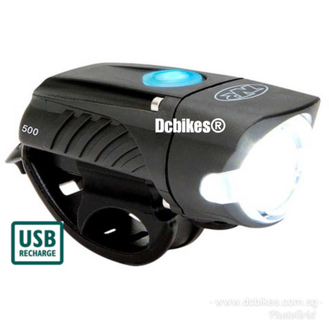 Niterider 500 Lumen MTB Road Rechargeable Front Led Head Light