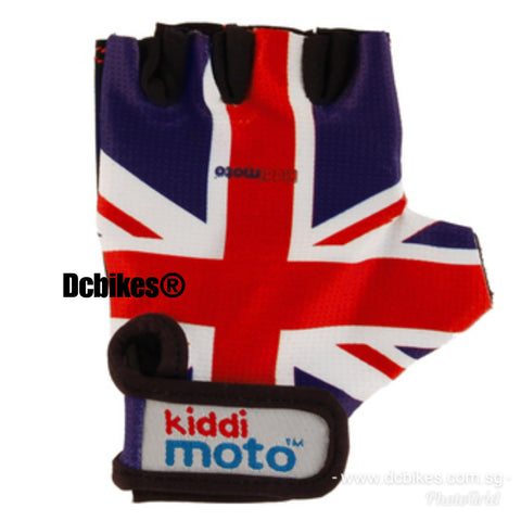 Kiddmoto Kids Racing Youth MTB Half Finger Protective Gloves