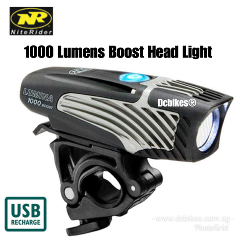 Niterider 1000 Lumens Rechargeable MTB Boost Lumina Front Led Head Light