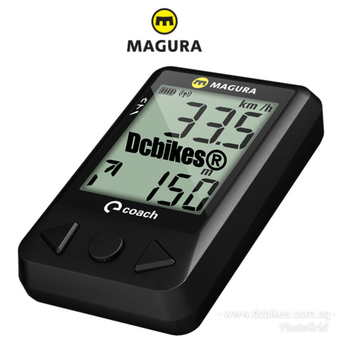 Magura eLECT Coach Bluetooth Smart App Computer MTB Road Wireless Speedometer