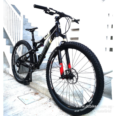 29er Cannondale Scalpel 4 Full Air Suspension Mountain Bike