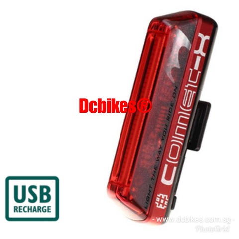 Moon Comet-X 50 Lumens Space Rechargeable Rear Red Led Tail Light