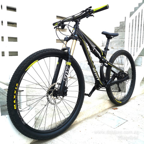 29er Scott Genius 940 Full Air Suspension Mountain Bike