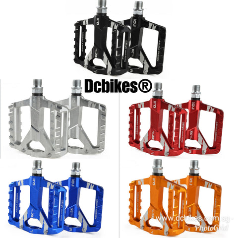 Ultralight Bicycle Mountain Bike Aluminium Anodized Alloy Pedals