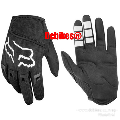 Genuine Fox Racing Youth Dirtpaw Kids Junior Full Finger Touch Screen Gloves