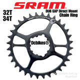 Sram 32T/34T DUB GXP Eagle X Sync Steel Direct Mount Round Chain Ring