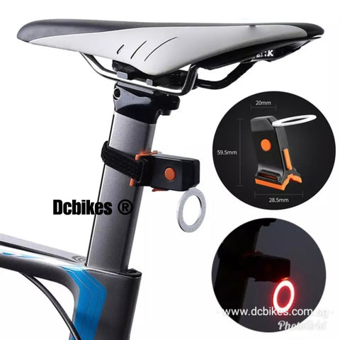Rechargeable Led Lamp MTB Road Weatherproof Tail Light