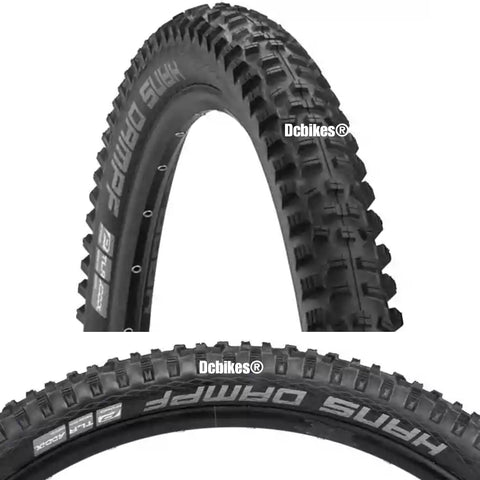 Schwalbe 24 X 2.35 Hans Dampf Addix MTB Tubeless Ready Folding Tyres (2 Tires)