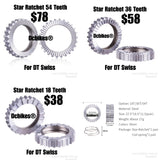 54T/36T/18T Star Ratchet Service Kit SL For DT Swiss Hubs X1600/X1700/1501/190/240S/340/350/440/540