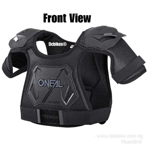 ONeal Kids 4 - 9 Years MTB Bmx DJ Chest Guard Shield Protector
