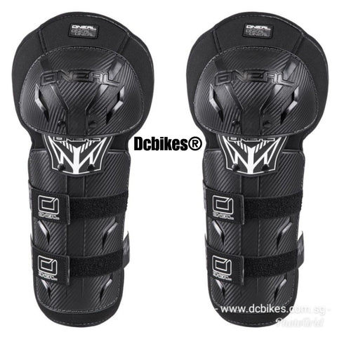 O'Neal Kids Carbon Optic MTB PRO III Youth Knee Guards Protectors