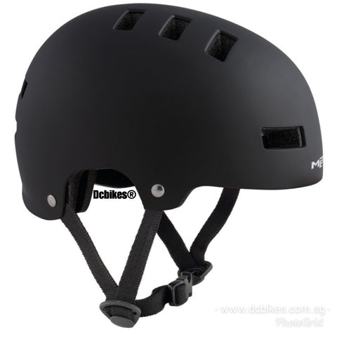 Met Kids YoYo MTB Youth BMX Dirt Protective Black DJ Helmet
