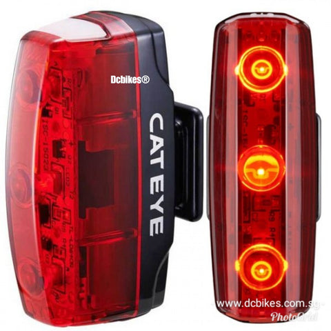 Cateye 15 Lumens Rapid Micro Rechargeable Rear Led Light
