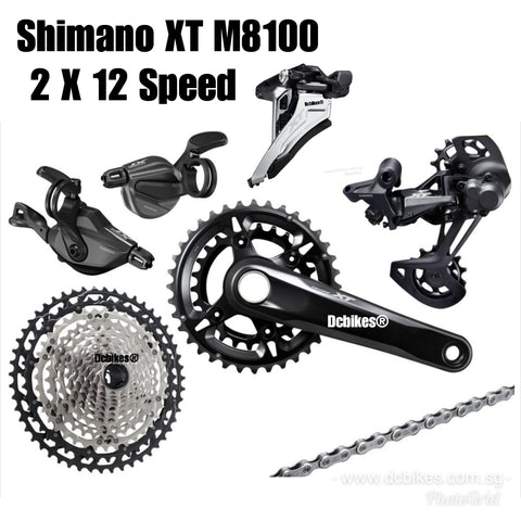 New 2019 Shimano Deore XT RD M8100 SGS 12 speed Rear Derailleur Long Cage