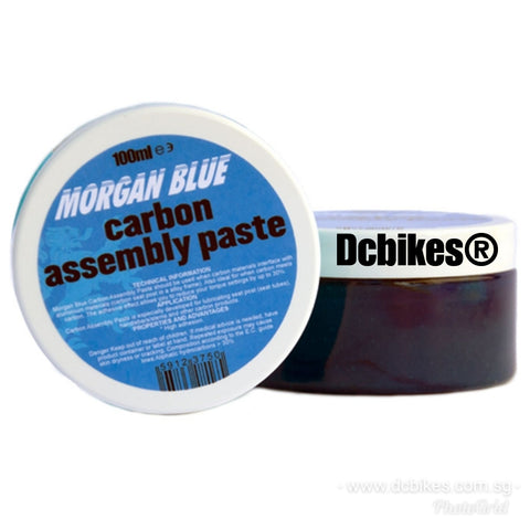 Morgan Bicycle Blue Carbon Fiber Assembly Paste 100ml