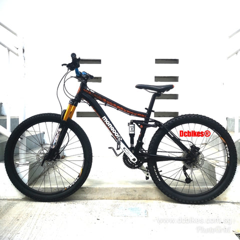 26er Mongoose Salvo Sport Full Air Suspension Mountain Bike