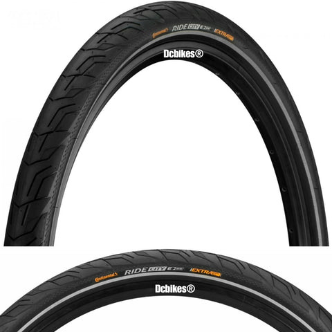 Continental 26 X 1.75 Fast Rolling City Wired Tyres (2 Tires)