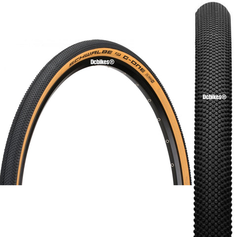 Schwalbe 700c X 35c G-One 28 X 1.35 Allround RaceGuard Tubeless Road Fixie Folding Tyres