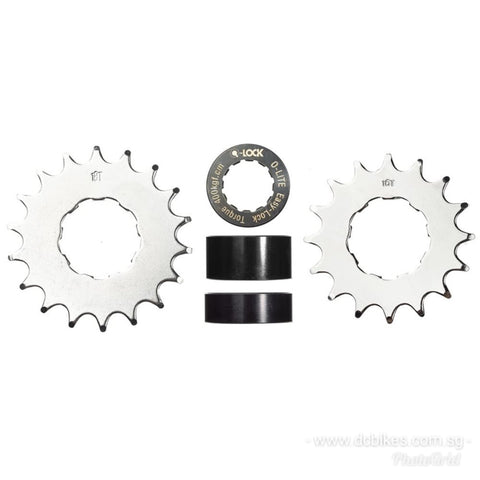 Dcbikes ®️ DJ / MTB 16T / 18T Single Speed Conversion Kit