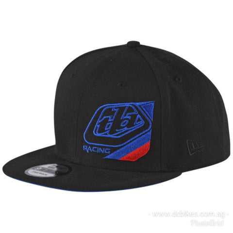 Troy Lee Designs Competitor Black Trucker Snapback Cap
