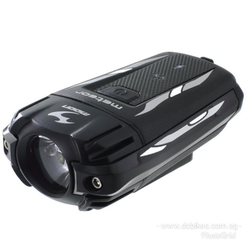 Moon Meteor 300/400 Lumens Rechargeable Front MTB Bike Bicycle Escooter Led Head Light