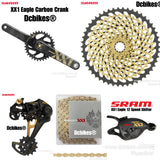 Sram XX1 12 Speed Eagle Carbon Gold DUB 10-50T 12s Single Speed Kit MTB Groupset