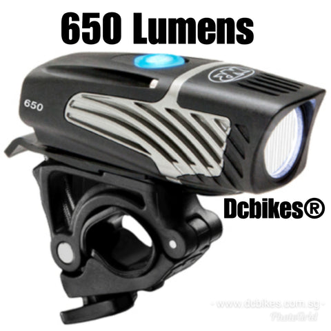Niterider 650 Lumens Rechargeable Lumina Micro Front Bike Led Lights