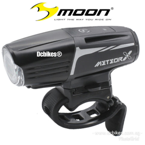 Moon 450 Lumens Meteor Auto Thunder X Rechargeable Front Bike Led Light