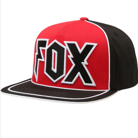 official photos 1d042 fa329 ... uk genuine fox racing red faction snapback cap hat e287b a44a6