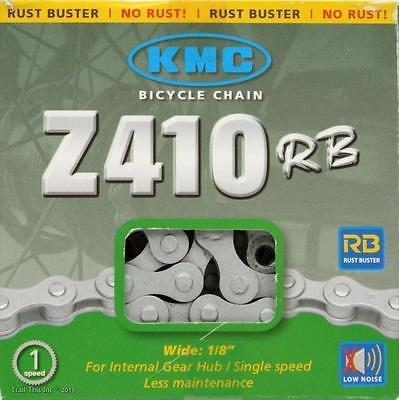 KMC Single Speed Fixed Gear BMX Silver Chain