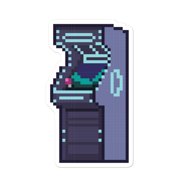 Arcade Machine Sticker