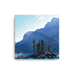 Lake Pixel Canvas