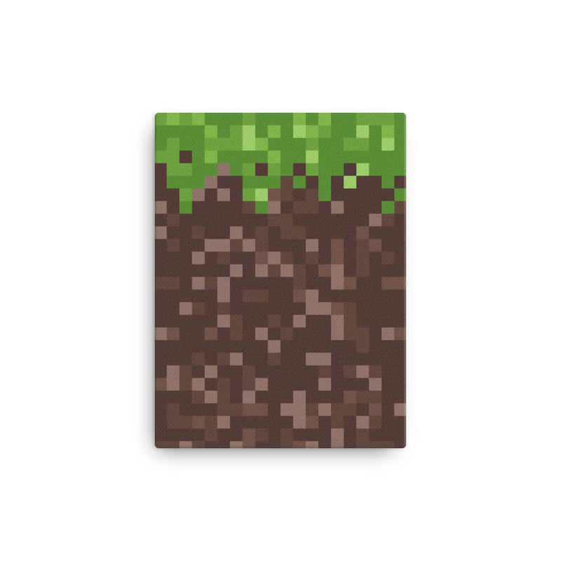 Mudd Canvas Pixel Art