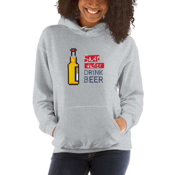 Save water drink beer hoodie