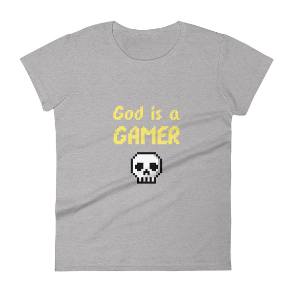God is a gamer Women's  t-shirt