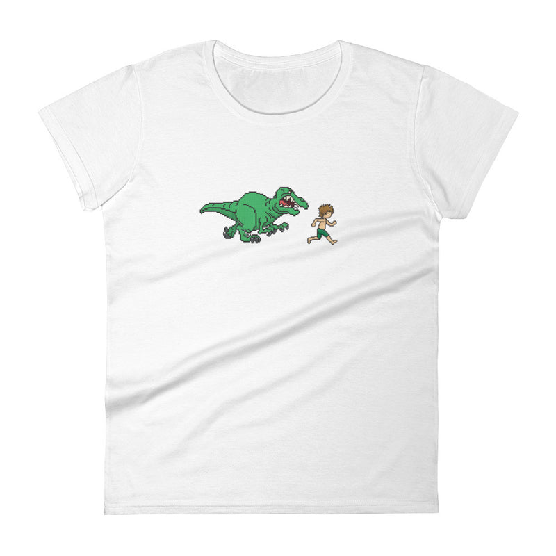 Crazy Dinosaur Women's t-shirt