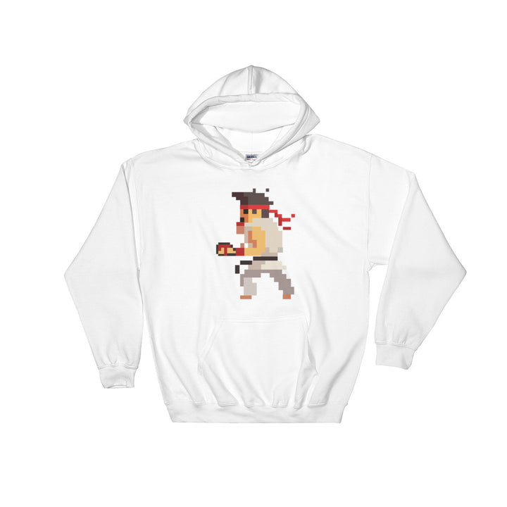 Karate Pixel Hooded Sweatshirt