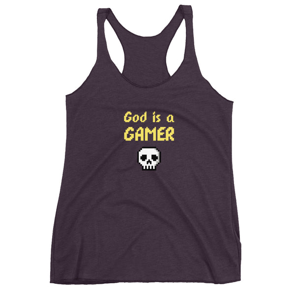 God is a gamer Women's Tank