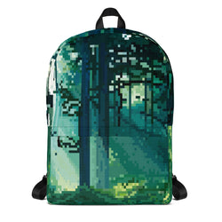 Forest Pixel Backpack