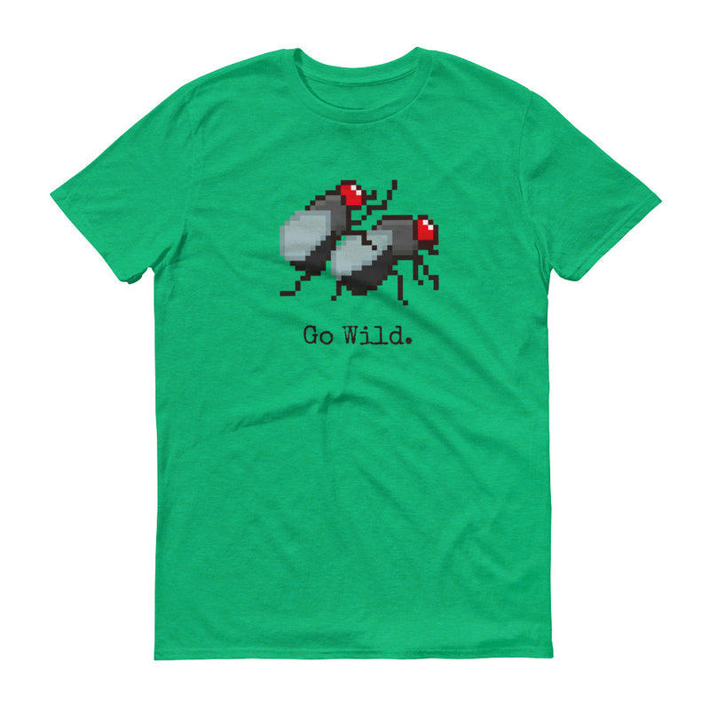Flies go wild pixel T-Shirt