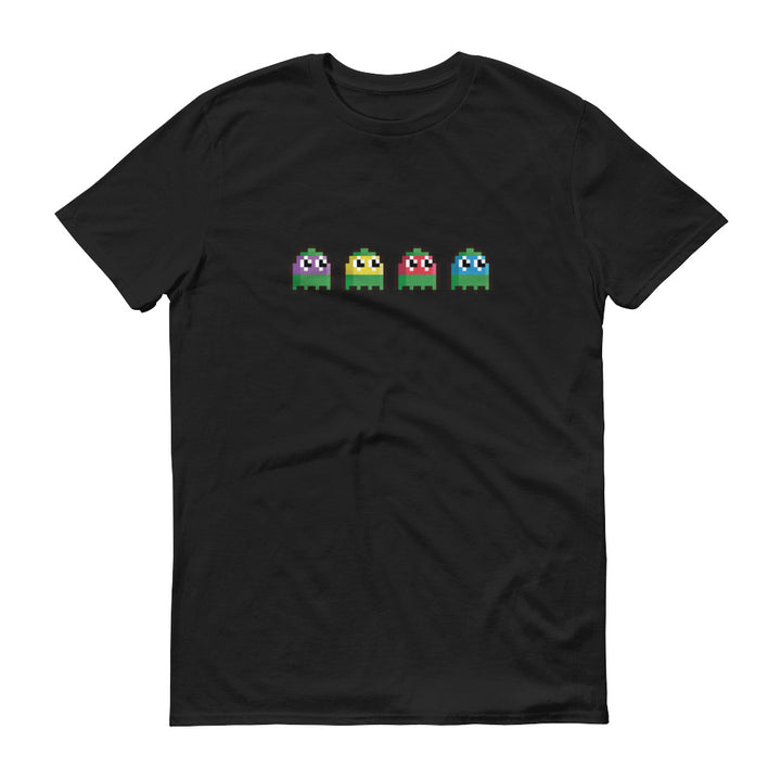 Turtles pac man pixel T-Shirt