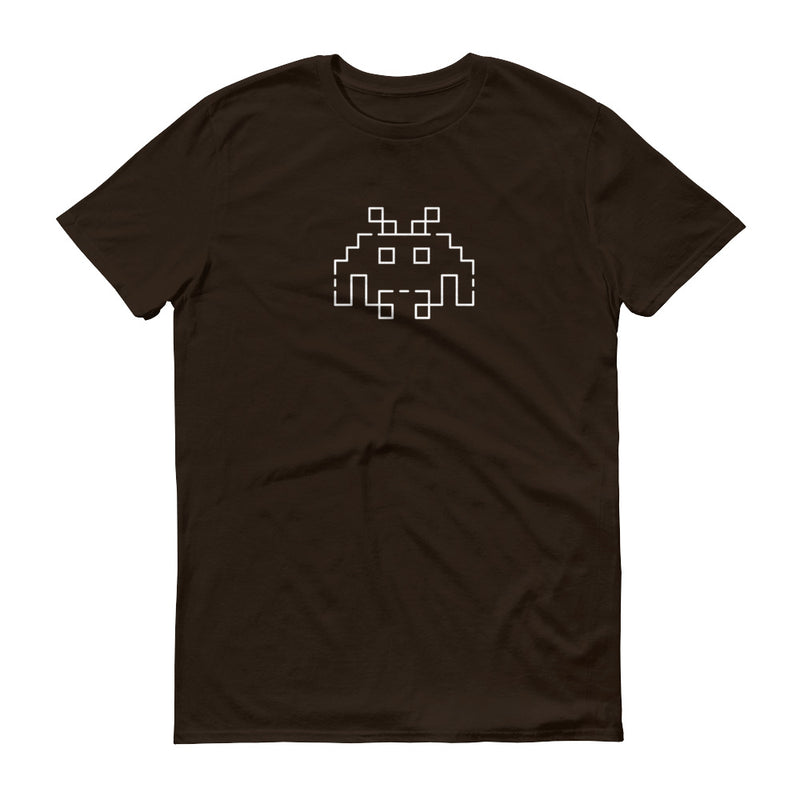 Space Invaders White line T-Shirt