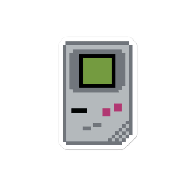 Gameboy Pixel Sticker