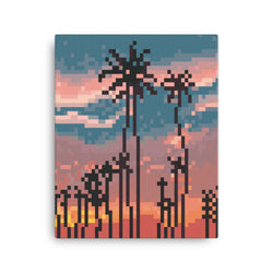 Los Angeles Pixel Canvas