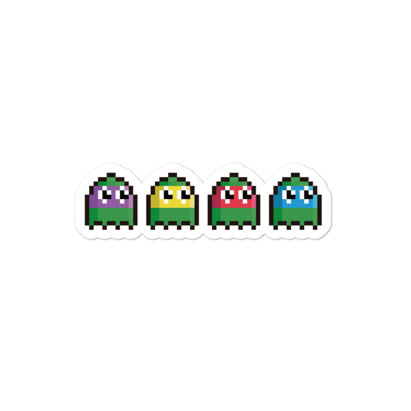 Turtles Pacman sticker