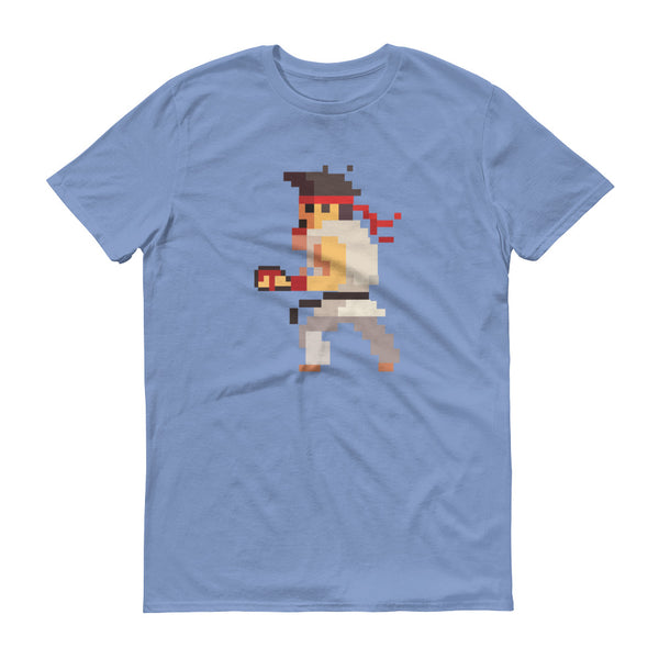 Karate Pixel Figure T-Shirt