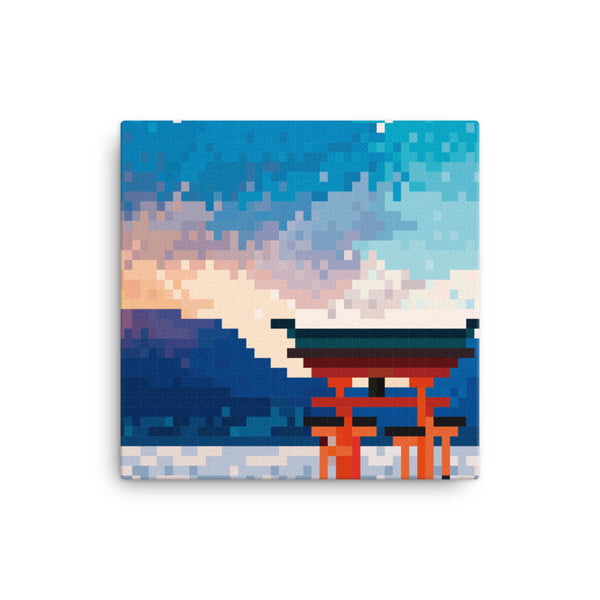The Itsukushima Shrine Pixel Canvas