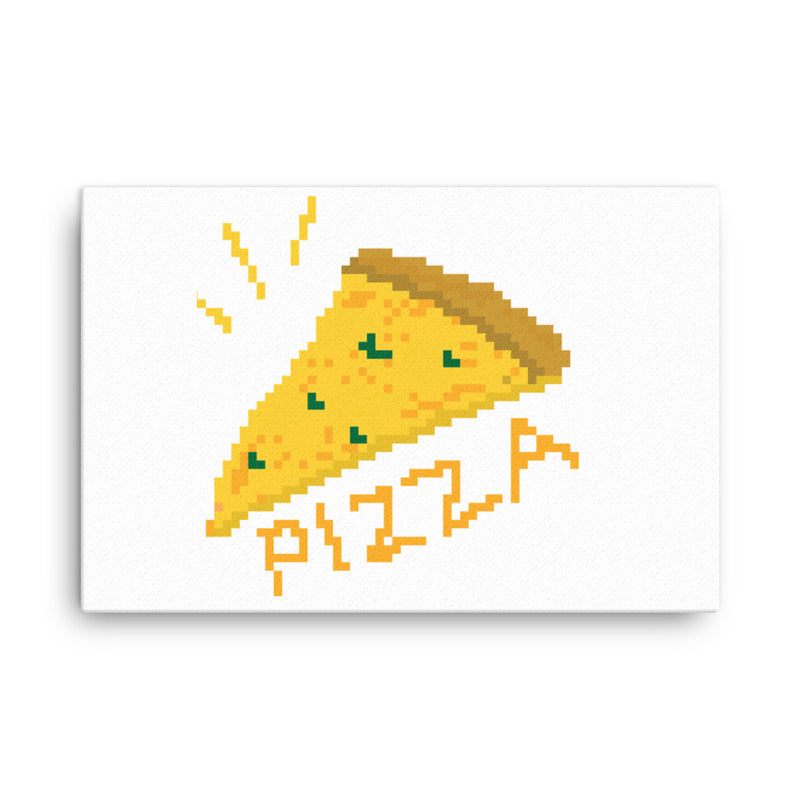 Pizza Pixel At Canvas